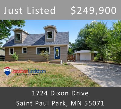 Just Listed – 1724 Dixon Drive, Saint Paul Park, MN 55071