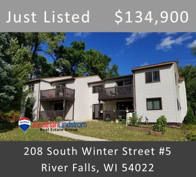 Just Listed – 208 South Winter Street #5, River Falls, WI 54022