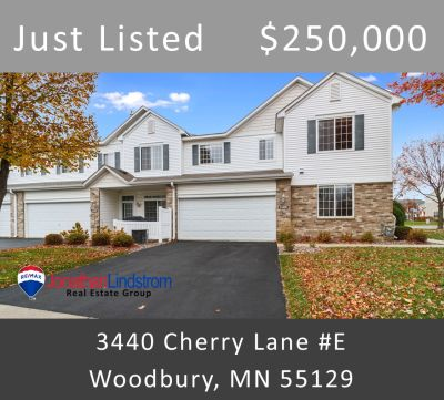 Just Listed – 3440 Cherry Lane #E, Woodbury, MN 55129