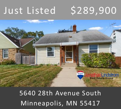Just Listed – 5640 28th Avenue South, Minneapolis, MN 55417