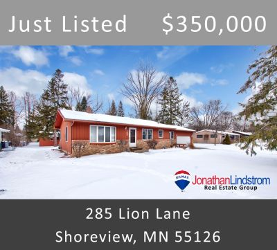 Just Listed – 285 Lion Lane, Shoreview, MN 55126