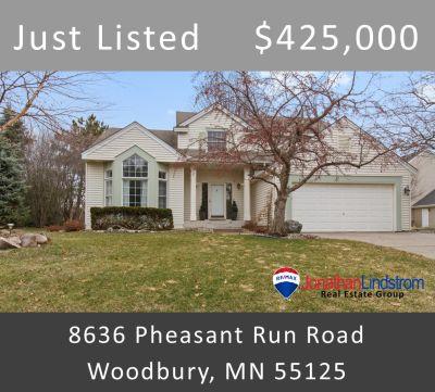 Just Listed – 8636 Pheasant Run Road, Woodbury, MN 55125