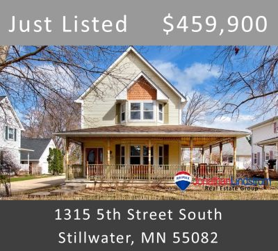 Just Listed – 1315 5th Street South, Stillwater, MN 55082