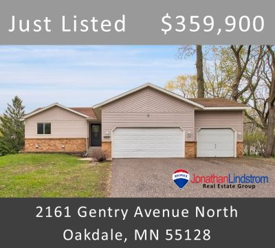 Just Listed – 2161 Gentry Avenue North, Oakdale, MN 55128