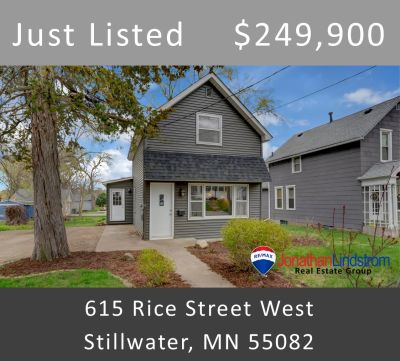 Just Listed – 615 Rice Street West, Stillwater, MN 55082