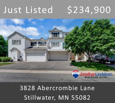 Just Listed – 3828 Abercrombie Lane, Stillwater, MN 55082