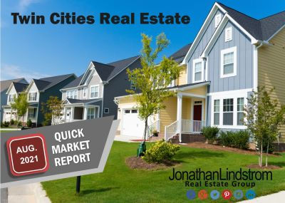 AUGUST 2021 TWIN CITIES REAL ESTATE STATISTICS