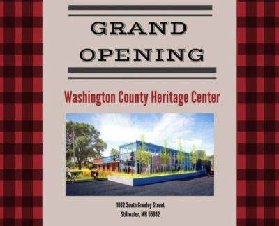 Washington County Heritage Center Grand Opening