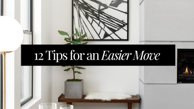 12 Tips for an Easier Move