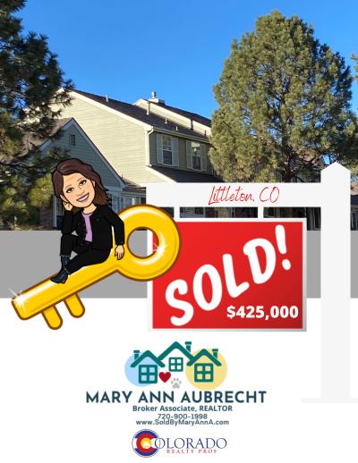 Sold!  Progress Place, Littleton, CO