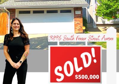 Sold 3896 South Fraser Street, Aurora, CO