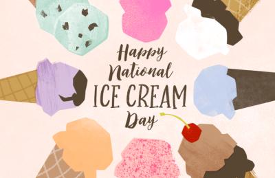 Happy National Ice Cream Day!