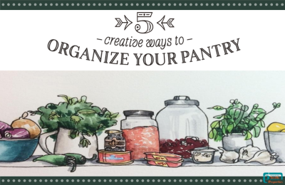 5 creative ways to organize your pantry