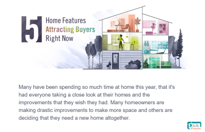 5 Home Features attracting Buyers right now