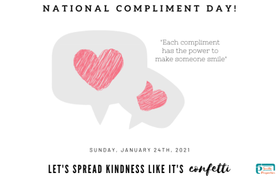 National Compliment Day!