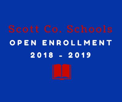 Scott Co. Schools Open Enrollment 2018-2019