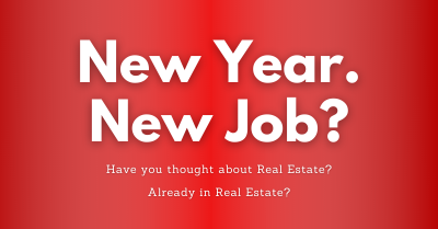 Have you thought about a career in Real Estate?