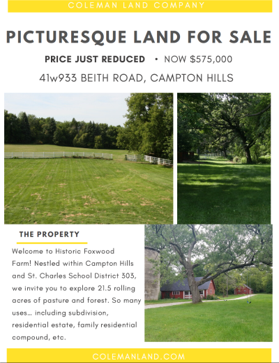 Historic Farm for Sale -JUST REDUCED