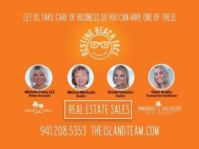 The Island Team - Michelle Finley, Melissa Mutkoski, Kendal Canonico & Claire Brophy