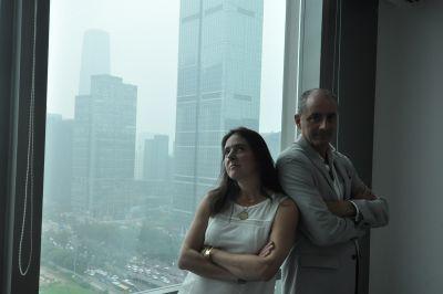 Bing & Sanchez Team in Beijing
