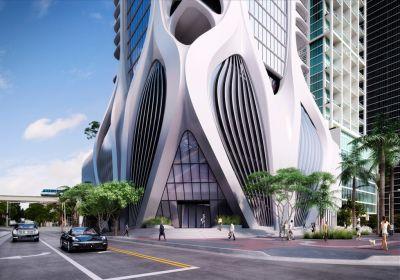 1000 Museum Condominiums in Miami. A Zaha Hadid work of art.