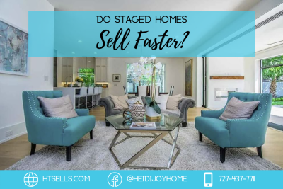 Do staged homes sell faster?