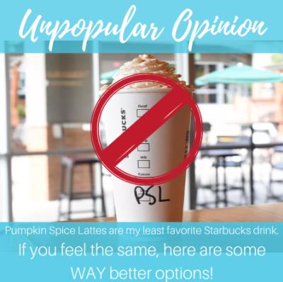 Unpopular Opinion – Pumpkin Spice Lattes are the WORST