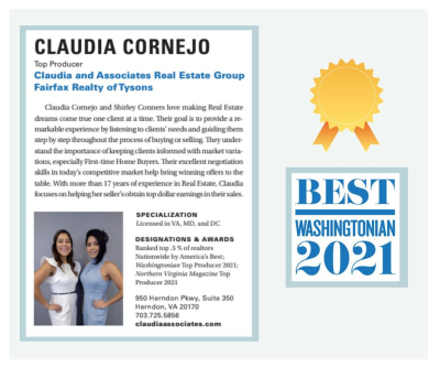 Best Washingtonian 2021
