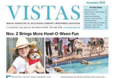 November Vistas Community Newsletter Now Available