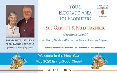 Have you seen our ad in the January issue of Eldorado Living?