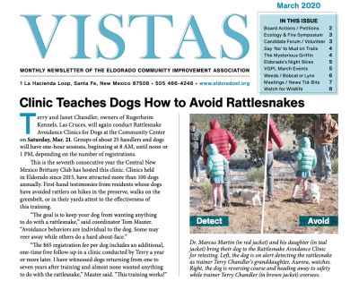 March Vistas Community Newsletter Now Available
