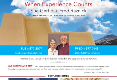 Did you see our ad in the July issue of Eldorado Living?