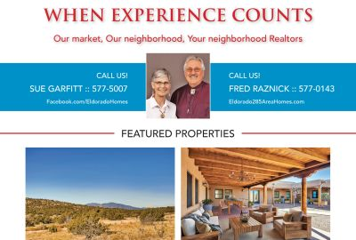 Did you see our ad in the December issue of Eldorado Living?