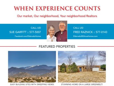 Did you see our ad in the March issue of Eldorado Living?