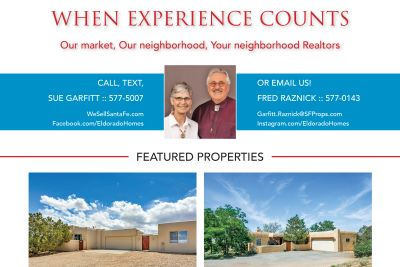 Did you see our ad in the June issue of Eldorado Living?