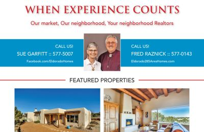 Did you see our ad in the May issue of Eldorado Living?