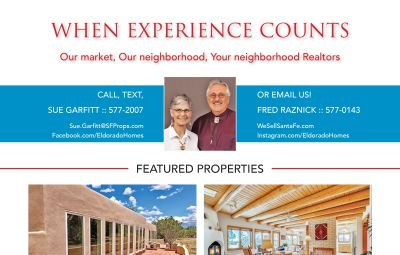 Did you see our ad in the August issue of Eldorado Living?