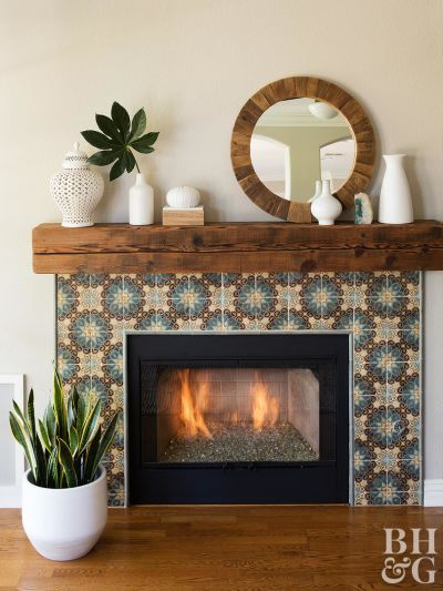 Fireplace Makeovers from Better Homes and Gardens