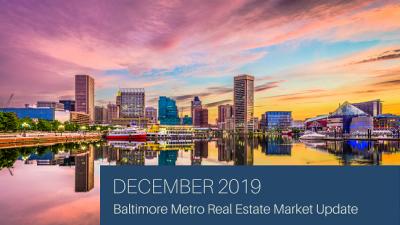 December 2019 Baltimore Metro Real Estate Market Update