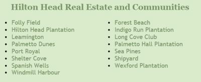Hilton Head Real Estate Communities