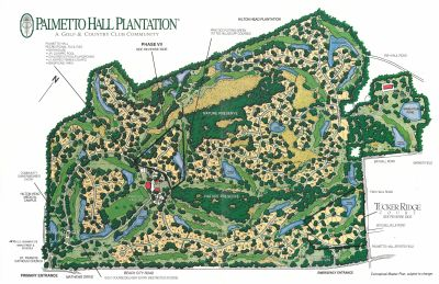 Palmetto Hall Maps and Plats