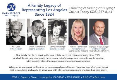 A Family Legacy Selling LA!