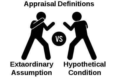 Extraordinary Assumptions VS Hypothetical Conditions