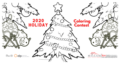 Holiday Coloring Contest 2020