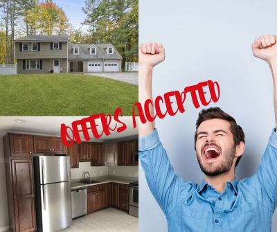 Offers Accepted!  Yes, there is a January Real Estate Market!