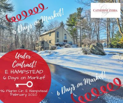 Under Contract at 6 Days on Market!