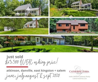 SOLD, collectively, $63,300 Over Asking Price!