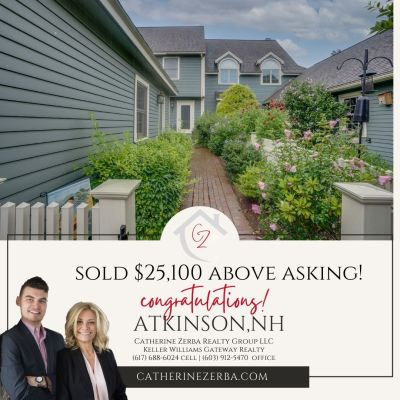 Year-to-date we have achieved ** $455,100 above asking price ** for our clients!