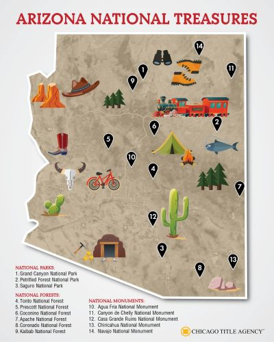 Check out these AZ National Treasures!