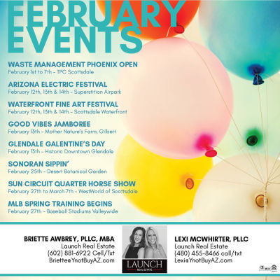 February 2021 Events Valleywide